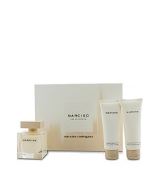 SET NARCISO RODRIGUEZ NARCISO EDP 50 ML + GEL 50 ML + BODY 50 ML