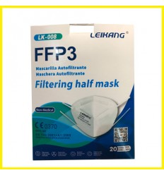 PACK 20 MASCARILLAS FFP3 - CE0370
