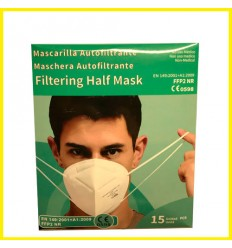 PACK 15 MASCARILLAS FFP2 - C0598